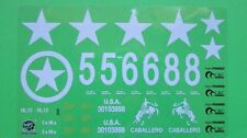 Stickers Set Sticker Set Decal Decal Solid Sherman Heng Long 1:16