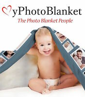 Personalised Photo Blankets Perfect For Baby Birthday Gifts Xmas Christmas