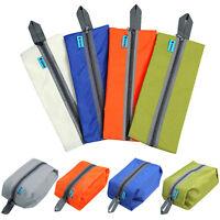 FT- Ornate Travel Waterproof Wash Shoe Bag Zipper Toiletry Makeup Hook Storage P
