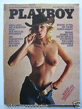 Playboy - D, 3/1977, Jutta Horten, Nathalie Zeiger, Claire Richards, Anouk Aimeé