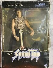 """NEW NIB Nigel Tufnel THIS IS SPINAL TAP 12"""" action figure w guitar & stand Toy"""