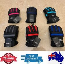 Quality Warm Kids ski Gloves winter Skiing snow gloves waterproof, AU stock