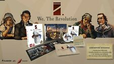 WE THE REVOLUTION LIMITED EDITION PC DVD NEW SEALED ENGLISH STEAM ARTBOOK