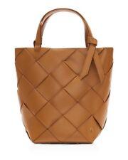 ETIENNE AIGNER Ella Woven Tote Shoulder Bag Crossbody Purse Handbag