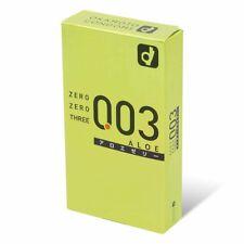 全新現貨 Okamoto 岡本 003 蘆薈 10件裝 安全套 (綠盒) *HK*