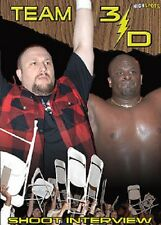 Team 3D Shoot Interview DVD WWE ECW TNA The Dudley Boys