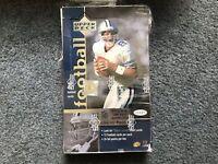1997 UPPER DECK NFL FOOTBALL HOBBY BOX new 24 12 CARD PACKS