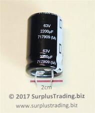 Panasonic Radial Snap-in Electrolytic Capacitor 2200uF 63V 105C