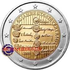 2 Euro Commémorative Autriche 2005 - Traité d'Etat Autrichien