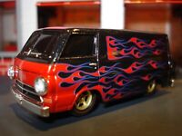 1964 64 DODGE A-100 VAN FACTORY CUSTOM LIMITED EDITION 1/64 M2 HIGHLY DETAILED