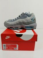 New Nike Air Max 95 Grey Black Blue Aqua CV1635-001 Men's Size 6 Fast Shipping