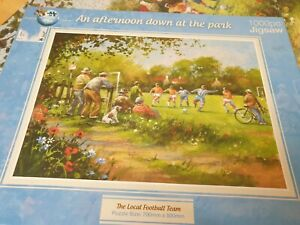 Puzzle world 1000 jigsaw puzzle an afternoon down at the park