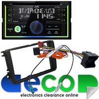 VW Transporter T5.1 Facelift JVC Bluetooth CD MP3 USB Car Stereo & Fitting Kit