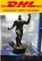 "14"" Statue Avengers Infinity War Bust Megamind Thanos Action Figure Collectible"