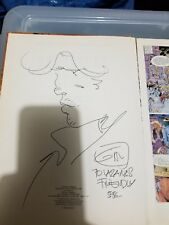 NEW LISTING*Jean Giraud 'Moebius' Signed w/Sketch* La Derniere Carte Jean-Michel Charlier Comic Art