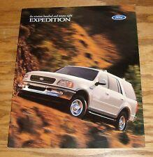 Original 1998 Ford Expedition Sales Brochure 98 XLT Eddie Bauer