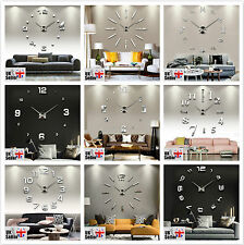 Round Modern Wall Clocks with Battery Backup