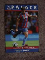 CRYSTAL PALACE v ASTON VILLA - 2014/15 SEASON (PREMIER LEAGUE)