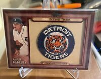2011 Topps MIGUEL CABRERA Throwback Commemorative Patch Card #TLMP-MC *Detroit *