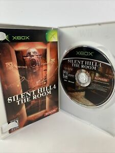 Silent Hill 4 The Room Konami Disc & Manual Only Microsoft Xbox Tested