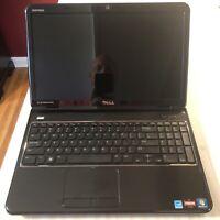 "Dell Inspiron M5110 Laptop 15.6""  AMD A4-3305M 500GB HDD Windows 7 PLEASE READ"