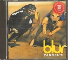 BLUR PARKLIFE 16 track CD 20 page BOOKLET 1994 STICKER Girls & Boys To The End