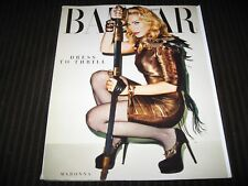 HARPER'S BAZAAR NOVEMBER 2013 - MADONNA - DRESS TO THRILL - SUBSCRIPTION ISSUE