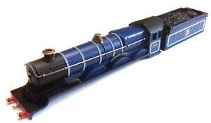 Hornby dublo 2/3 rail EDL20 4-6-0 Cadbury Castle BR blue 7028