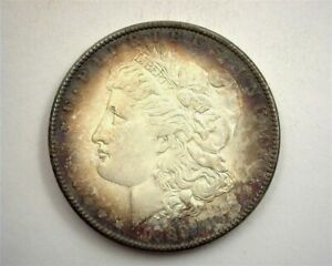 1889 MORGAN SILVER DOLLAR GEM UNCIRCULATED NICE TONING!!