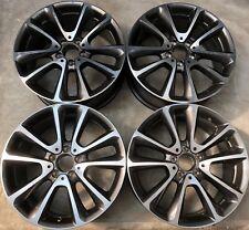 4 ORIG mercedes-benz llantas de aluminio 8jx18 et43 a2134011600 e w213 v213 s213 c238 fm35