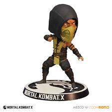 """Mortal KOMBAT X-Scorpion bobblehead Headknocker Figura - 6""""/15cm"""