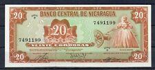 Nicaragua Central America 20 Cordobas Unc 1978 p-129