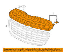 Chevrolet GM OEM 15-16 Trax Front Bumper Grille-Upper Grill 94560930