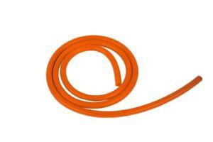 8mm Unterdruckschlauch Vakuumschlauch Silikonschlauch Orange 1m