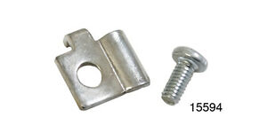 1957 Chevy BelAir, Nomad, #14-097C Deluxe HEATER CABLE CLIP Clamp - New