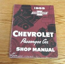 1955 CHEVY SHOP MANUAL Chevrolet Repair Manual ** PRINTED in USA **