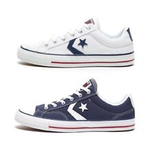 CONVERSE STAR PLAYER OX - UNISEX TRAINERS - WHITE or NAVY - BRAND NEW