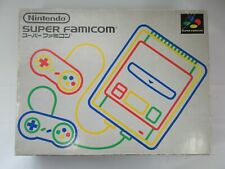 B20 Nintendo Super Famicom console Japan SNES SFC w/box controller x