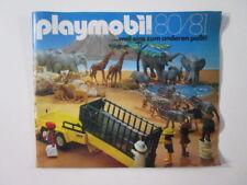 "PLAYMOBIL- ""DIFICILISIMO CATALOGO PLAYMOBIL 1980-1981 MUY BUEN ESTADO"" - LUJO!"