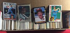 Collection Lot of Over 600 Assorted Mike Schmidt Baseball Cards Years Companies