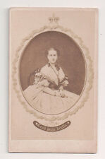 Vintage CDV Princess Alexandra of Denmark Queen of Great Britian