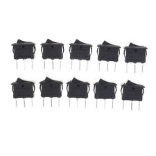 10PCS KCD11 3A/250V 3 Pin SPDT ON-OFF-ON 3 Position Snap Rocker Switch PR