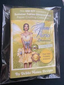 Debbi Moore Designs Summer Fairies USB Key
