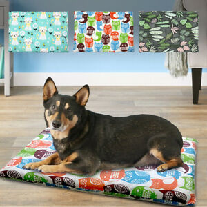 Dog Crate Bed Soft Pet Kennel Pad Washable Anti-Slip Dog Cushion Mat Kennel S-XL