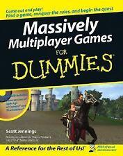 NEW - Massively Multiplayer Games For Dummies by Jennings, Scott