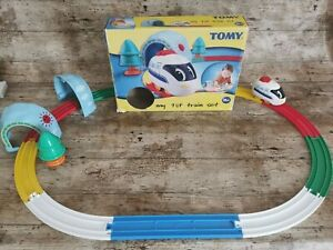 MY FIRST TRAIN SET PULL BACK ACTION By TOMY SUITABLE FOR 18 MONTHS +