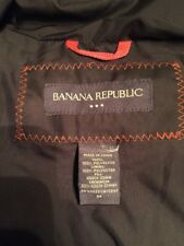 Banana Republic Women's Medium Gray Winter Jacket Down Puffer TL7