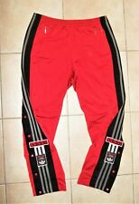 Adidas vintage Adibreak Track Pants Gr. D4/M 90er Knopfhose Trainingshose rot