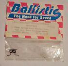 Ballistic Brushed Motor Springs Heat Treated Heavy Red Vintage Rc BAL602