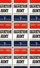 1965 - SALVATION ARMY - #1267 Full Mint -MNH- Sheet of 50 Postage Stamps